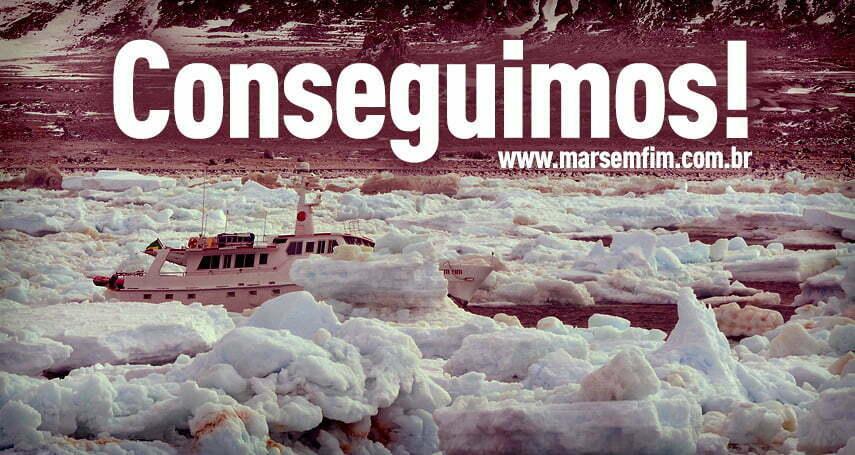 31/01/2013 - O Marzão veio a Tona, CONSEGUIMOS! MAR SEM FIM