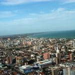 Vista aérea de Maceió.