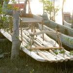 É muito difícil encontrar jangadas de pau hoje em dia. Não há mais pau de jangada, nem paúba, árvores utilizadas em sua construção.