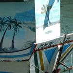 Decoração dos barcos tradicionais.