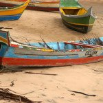 Canoa em Ponta dos Mangues.