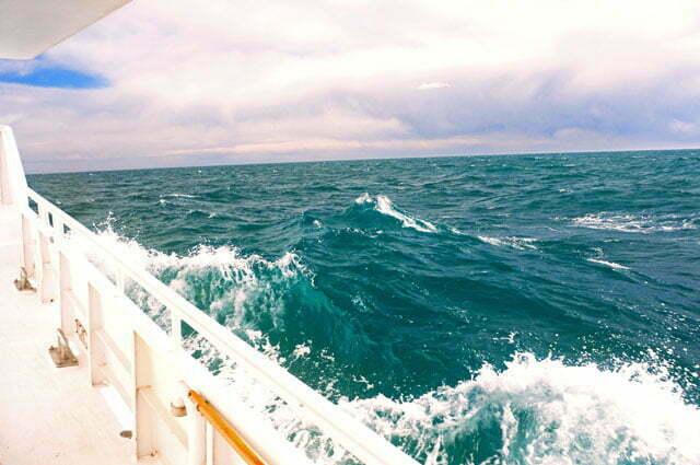 Mesmo fugindo, às vezes pegamos mar grosso