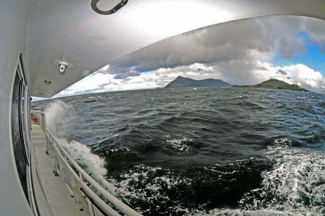 Navegando para o cabo Horn