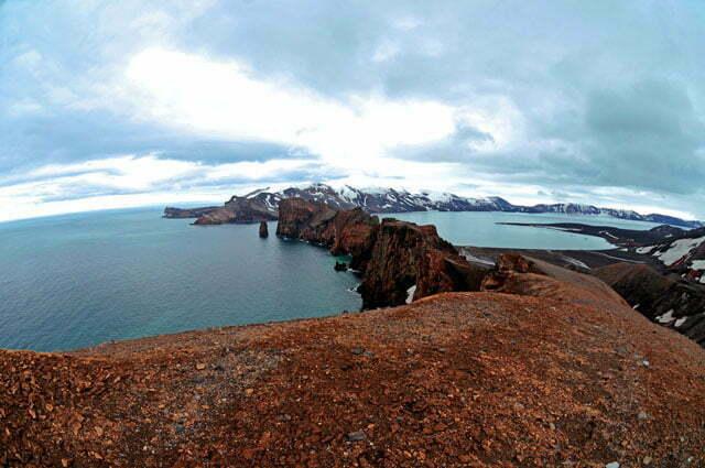 imagem dos Foles de Netuno, ilha Deception