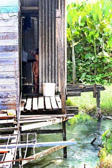 Macapá, sem água nem esgoto, imagem de casa pobre em Macapá