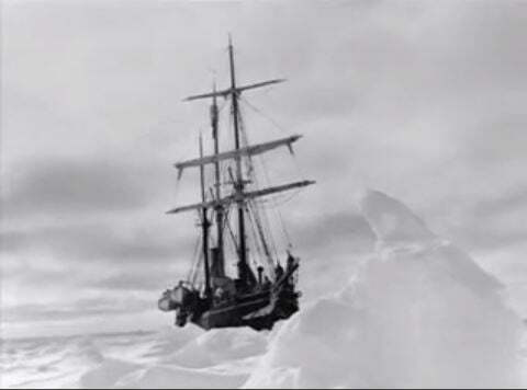 Shackleton, lendária expedição à Antártica, imagem do Endurance, navio de Sir Ernest Shackleton