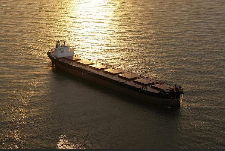 Os supernavios da Vale, imagem do Vale Brasil, maior cargueiro do mundo lançado pela Vale