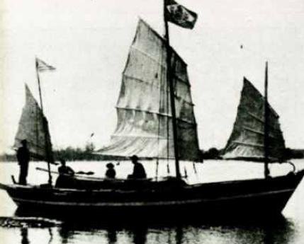 imagem do Liberdade, barco de Joshua Slocum