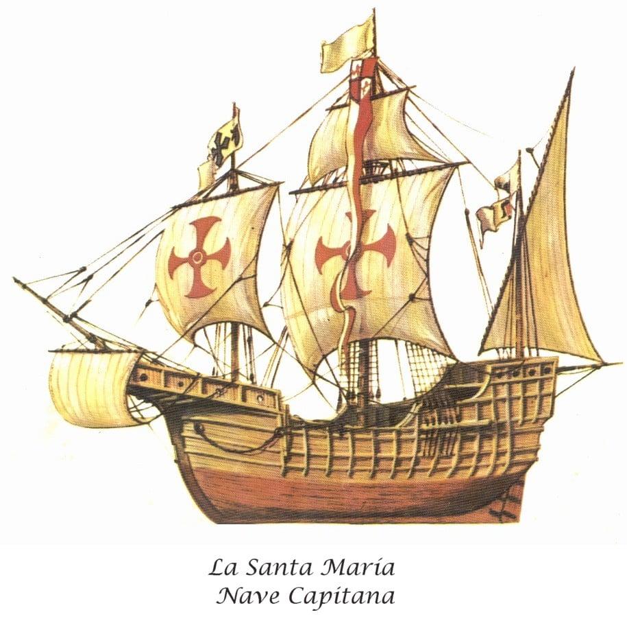 Naufrágio no Haiti pode ser caravela Santa Maria de Colombo