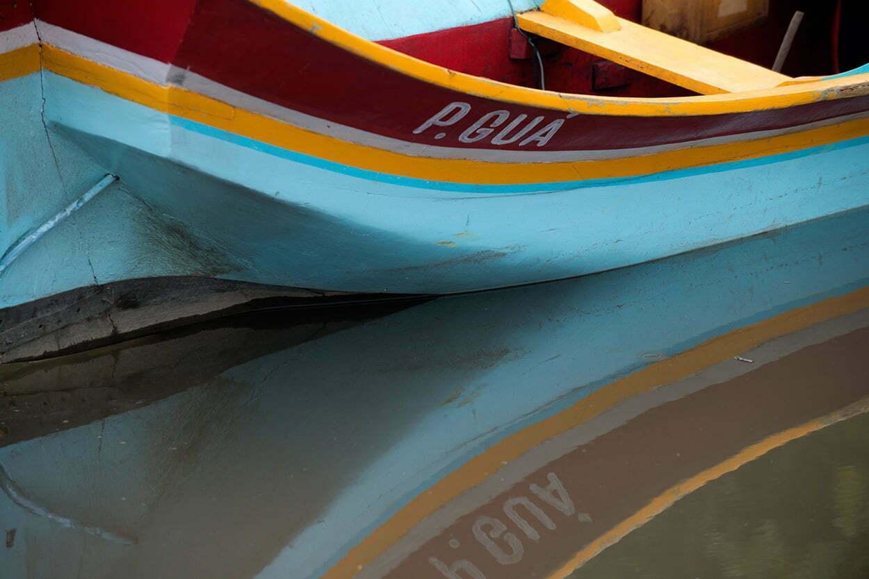 Litoral do Paraná em fotos;popa de canoa de bordadura