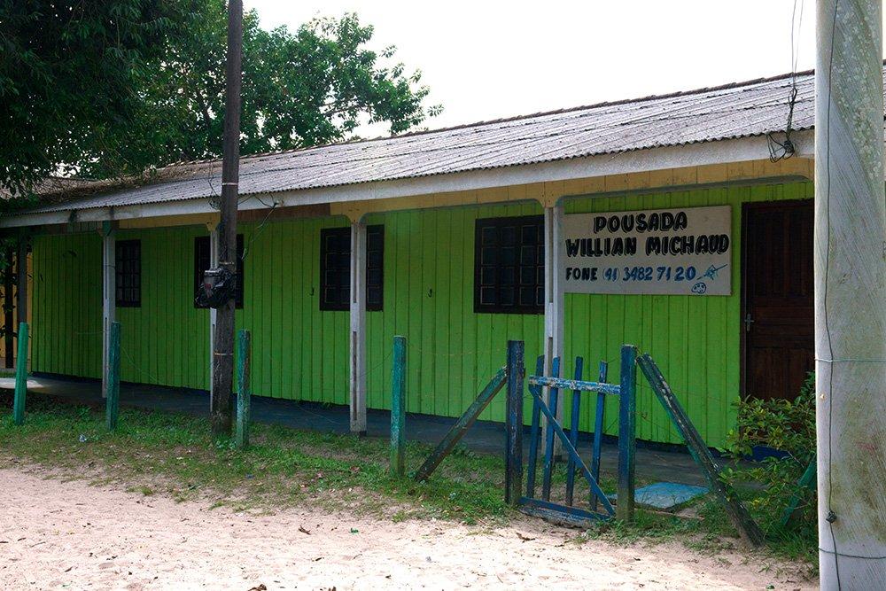 imagem da Pousada-Willian -Michaud-Parque Nacional do Superagui