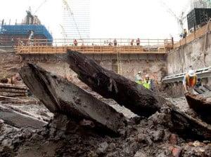 Navio achado nos escombros do World Trade Center é de 1700