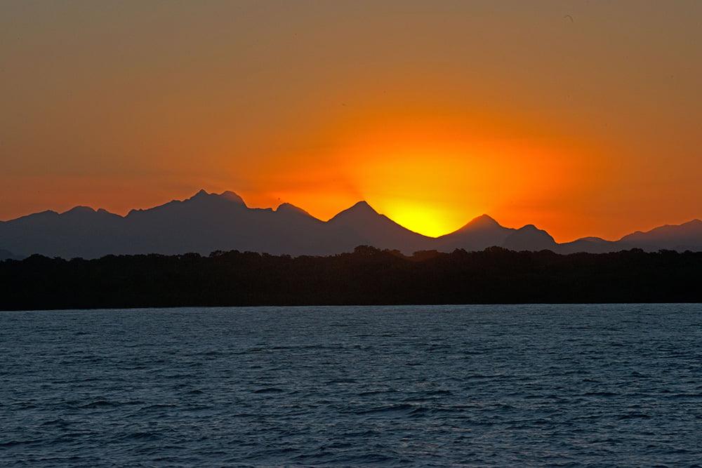 imagem da serra do mar Parque Nacional do Superagui