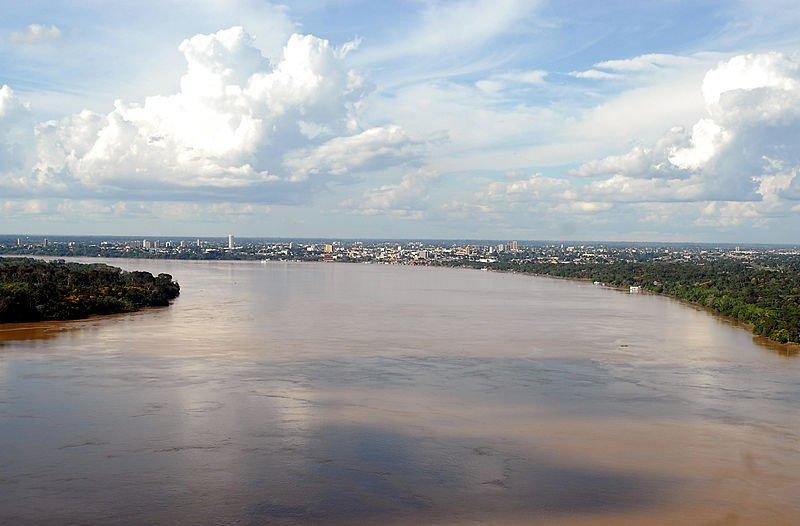oceano subterrâneo, imagem do rio amazonas