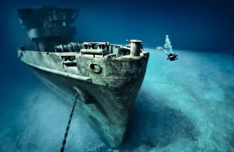kittiwake um dos naufrágios pelo mundo