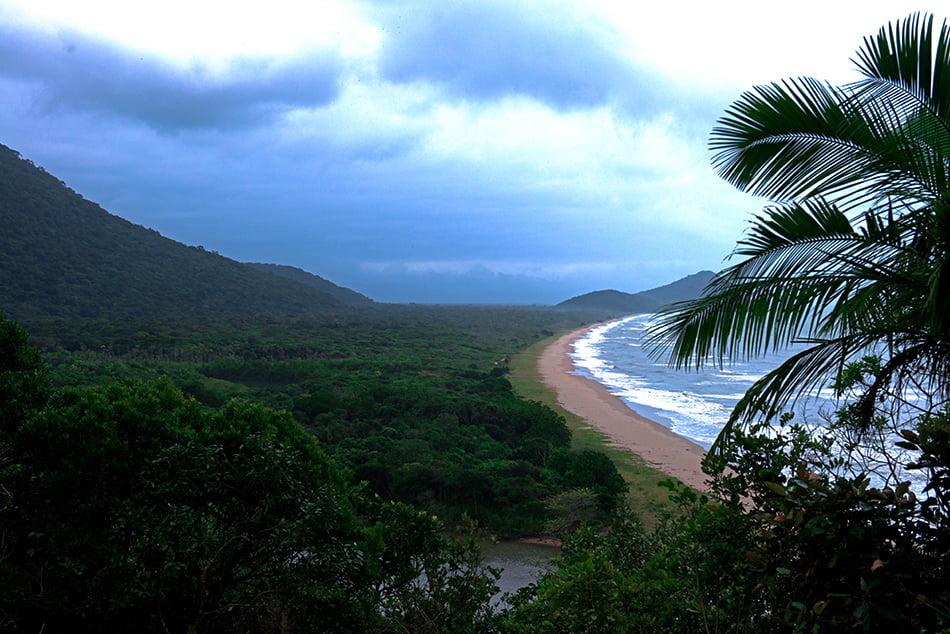 Arie Ilha do Ameixal e Mosaico Juréia- Itatins, imagem da praia-e-restinga-rio-verde,Mosaico Juréia- Itatins.