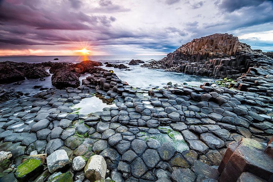 As praias mais diferentes do mundo, imagem de praia na irlanda