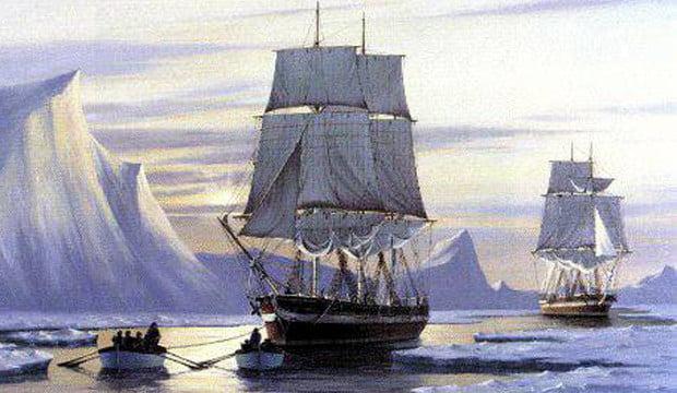 Navio lendário desaparecido é encontrado por canadenses