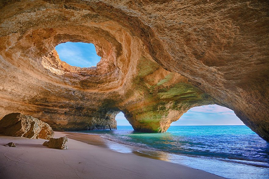 As praias mais diferentes do mundo, imagem de praia em portugal