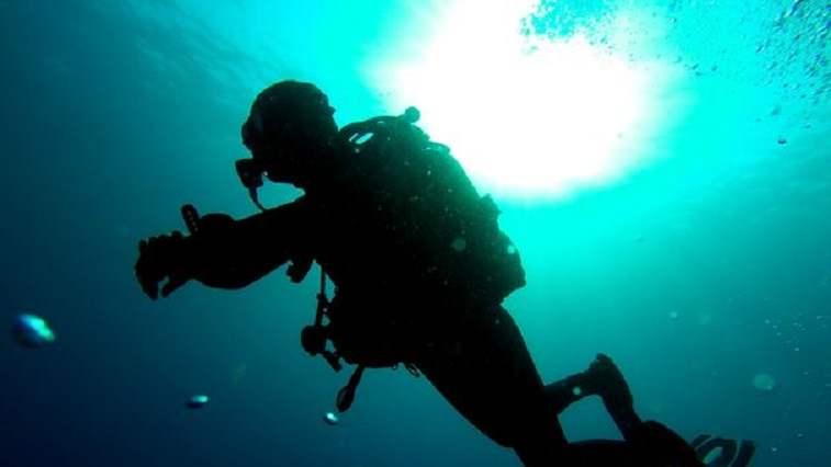 imagem recorde de mergulho mais profundo