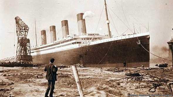 Fotos inéditas mostram Titanic antes da tragédia