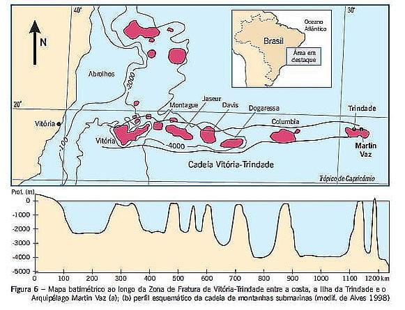 Recursos marinhos algas calcárias no banco-davis