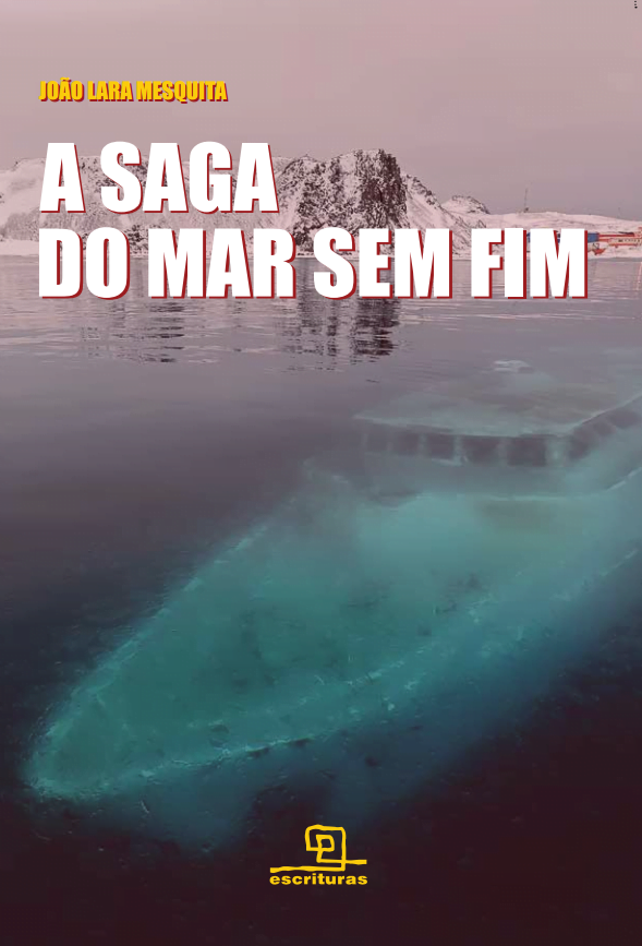 livro a saga do mar sem fim, imagem da capa do livro A Saga do Mar Sem Fim