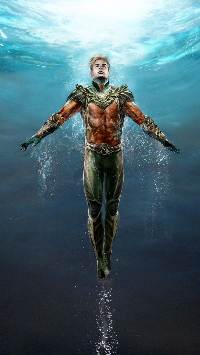 Cristal do Aquaman
