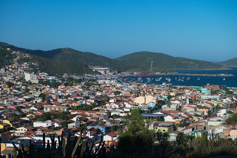 Resex Arraial do Cabo, Rio de Janeiro, imagem do-superadensamento-e-o-porto-