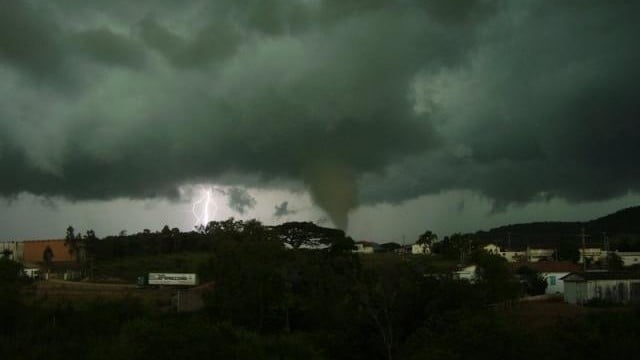Previsão de furacão no Brasil?