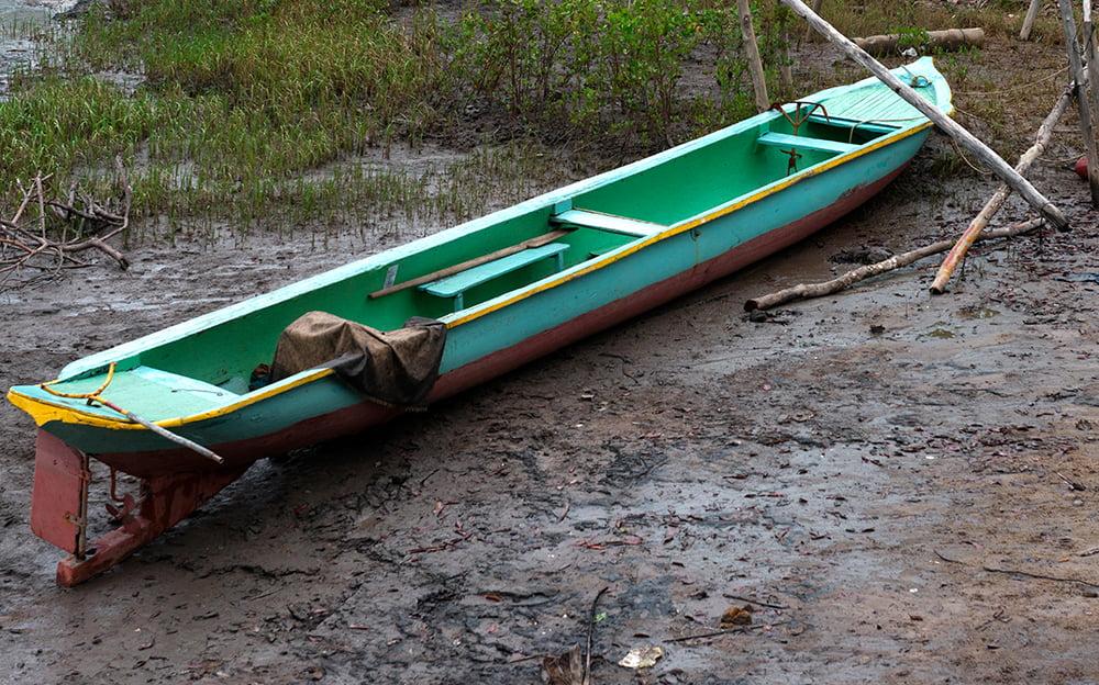 resex cassurubá, imagem de canoa baiana