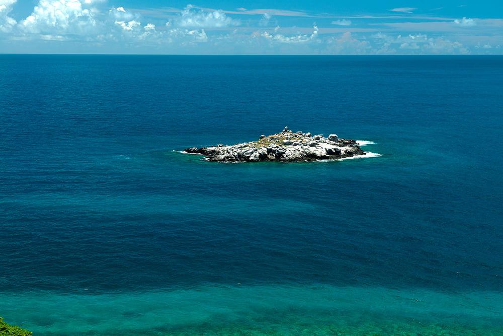 a-ilha-guarita do Parque Nacional Marinho dos Abrolhos