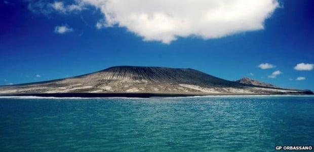 nova ilha pacífico