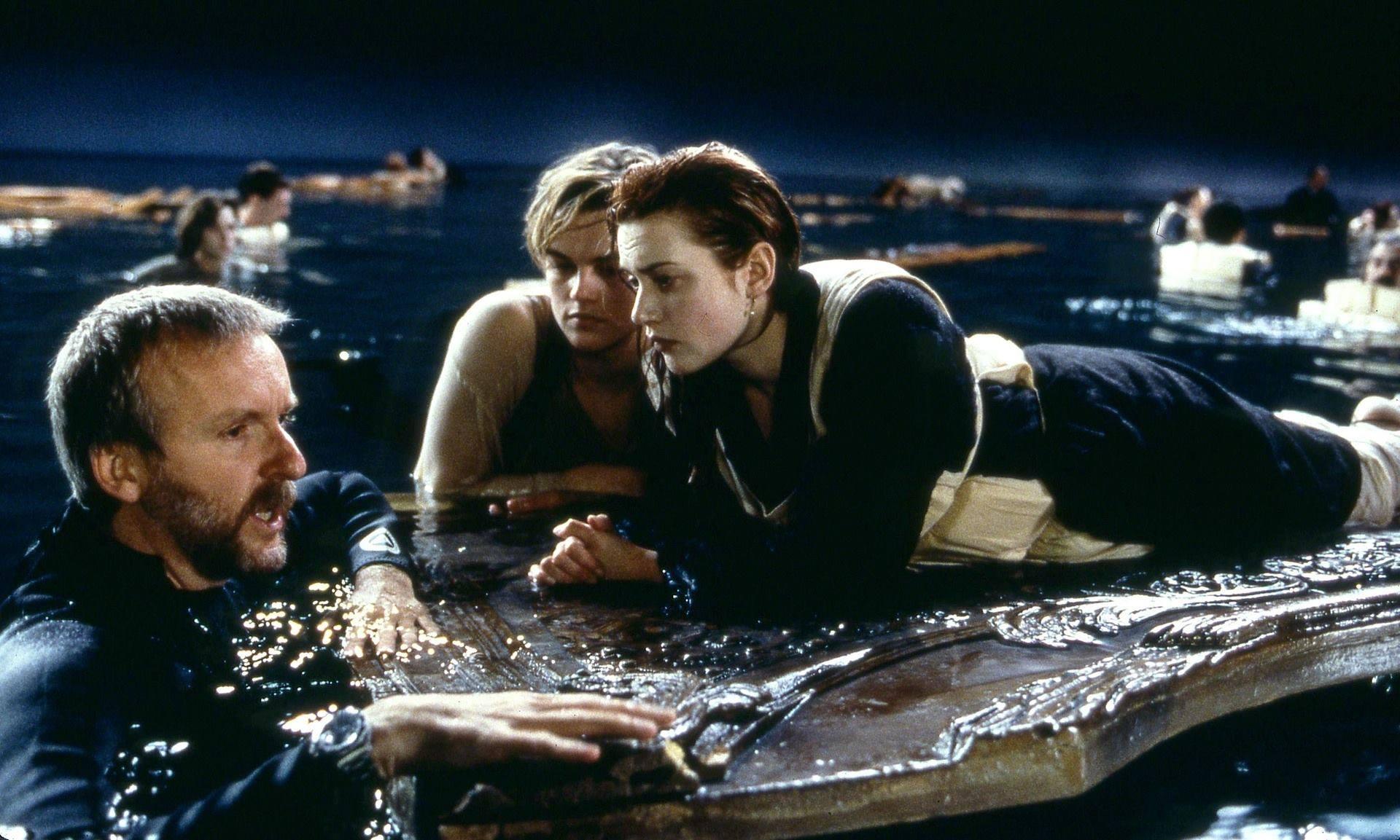 Titanic nos bastidores, imagem do filme titanic