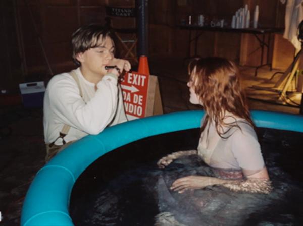 Titanic nos bastidores
