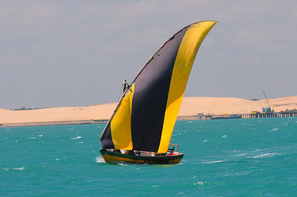 O mar sem fim é portuguez..., imagem de bote-bastardo-do ceará
