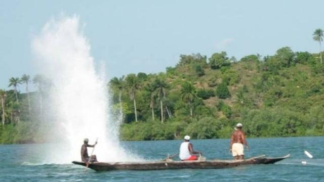 Pesca com bombas no Brasil