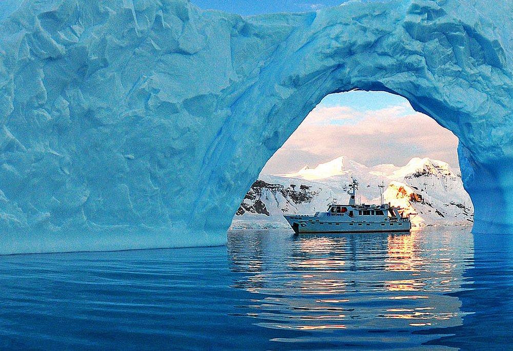 Alonso Irineu Goes,imagem do mar sem fim na antártica