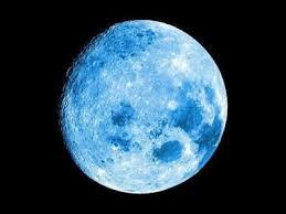 A Lua e os Oceanos, imagem da lua