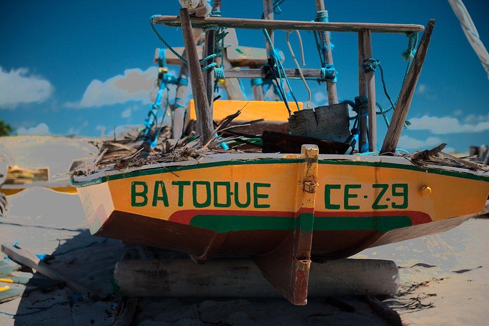 Resex Batoque, imagem de jangada