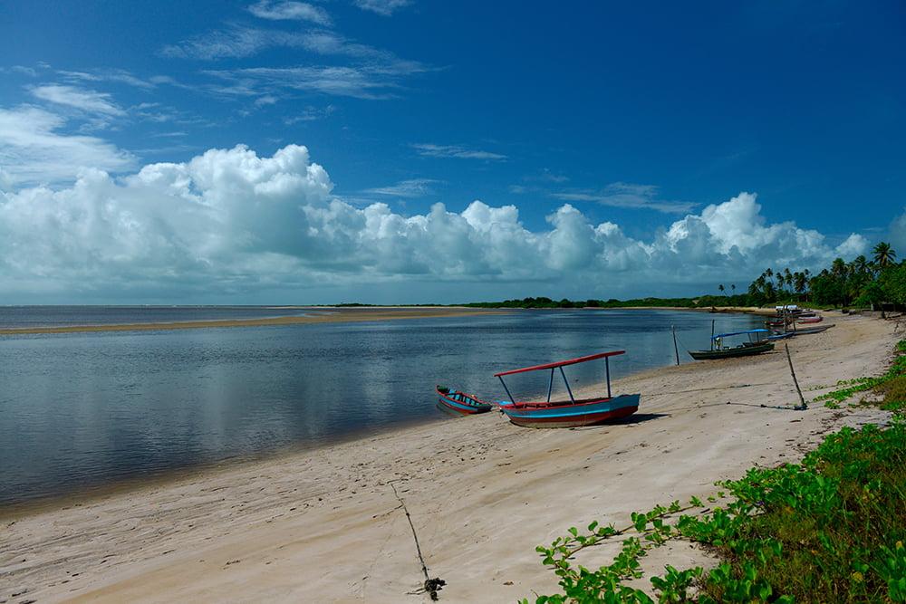 Árie e APA de Mamanguape, imagem do estuário de Mamanguape