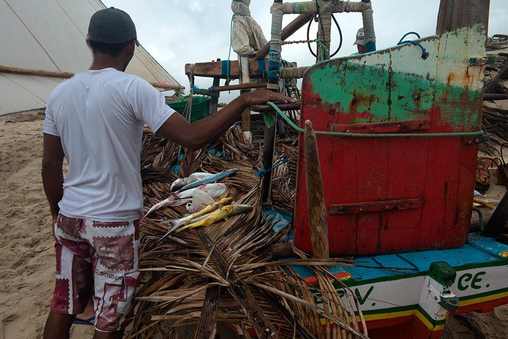 resex prainha do canto verde, imagem de pescadores