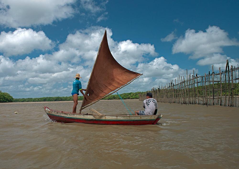 Resex Caeté Taperaçu, imagem de pescadores