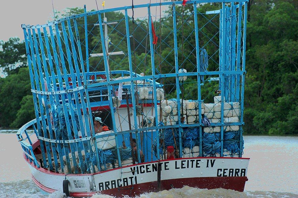 resex mãe grande de curuçá, imagem de barco pesqueiro