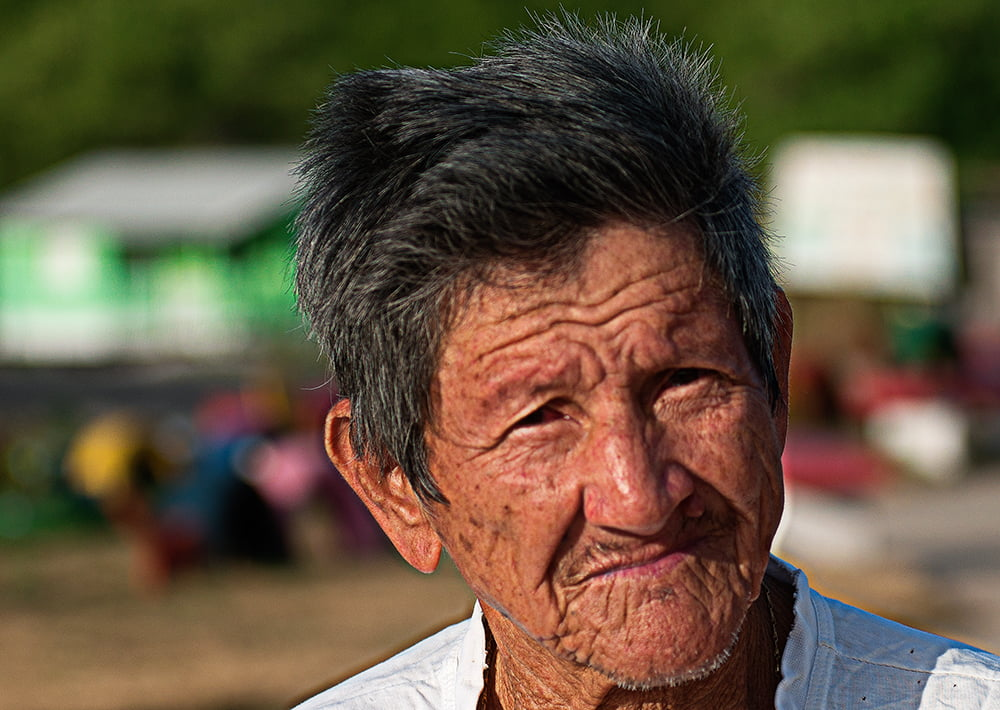 Resex Caeté Taperaçu, imagem de Seu Ubiraci, líder pescador em Bonifácio