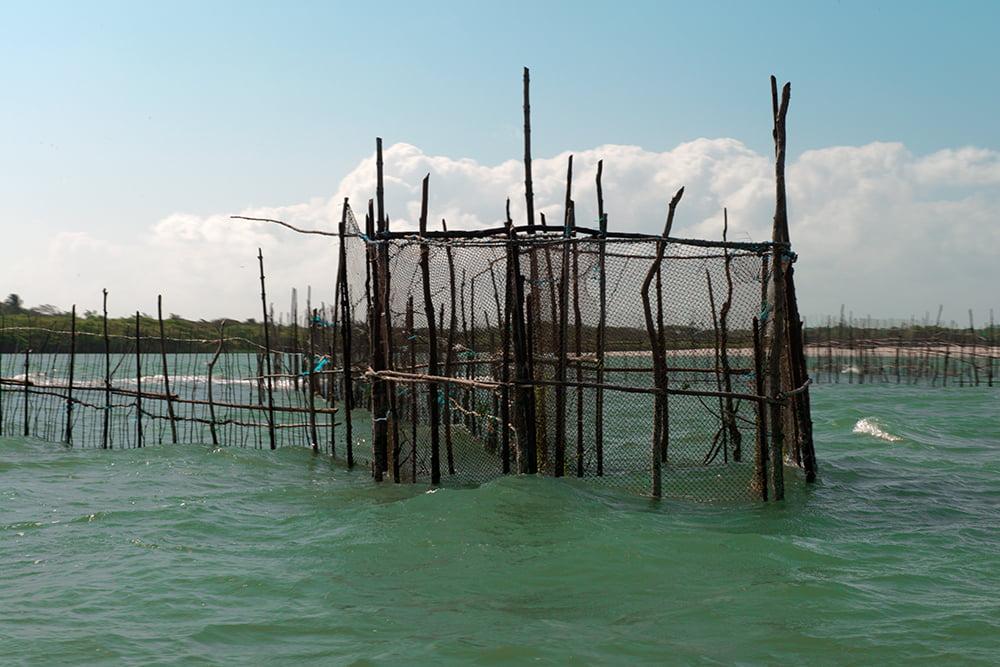 Resex Maracanã e Resex Chocoaré Mato Grosso, imagem de cerco no mar