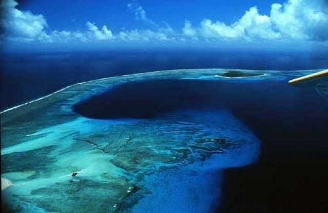 Atol de Kili, imagem do atol de bikini