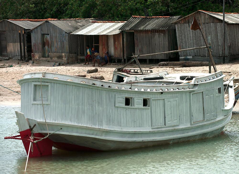 Resex de Cururupu, imagem de iate, embarcação do maranhão