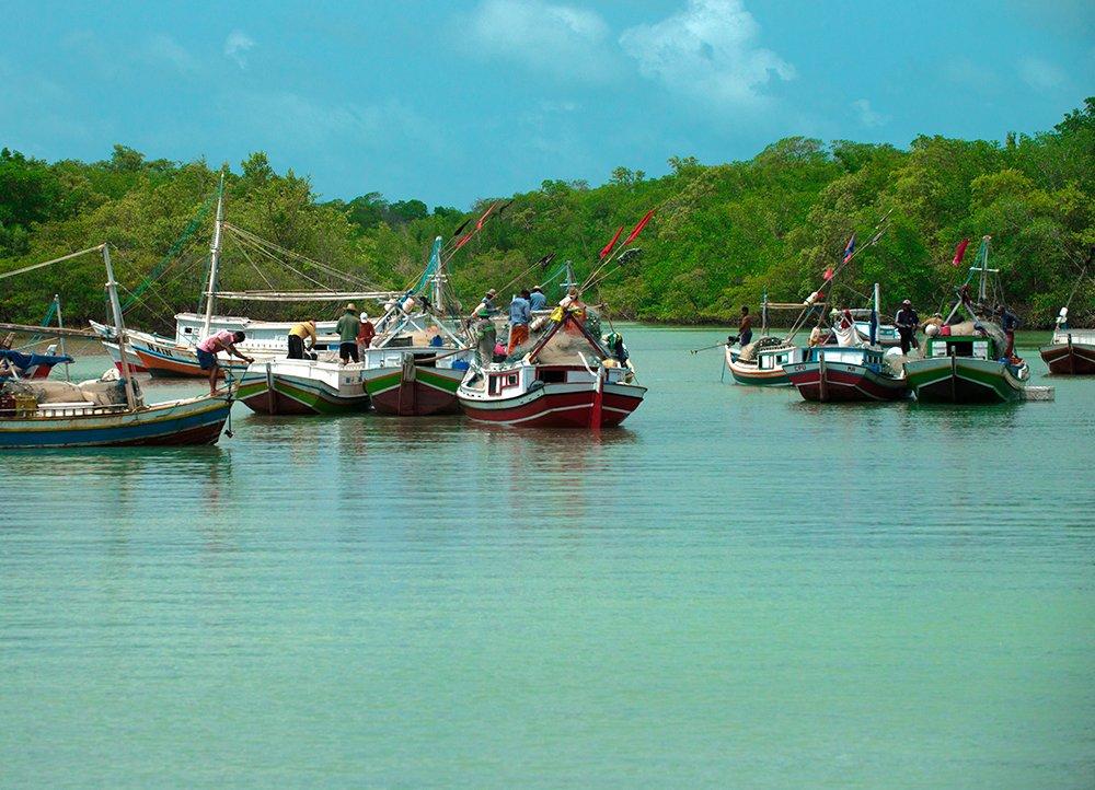 Resex de Cururupu, imagem de um-porto-de-pesca maranhão