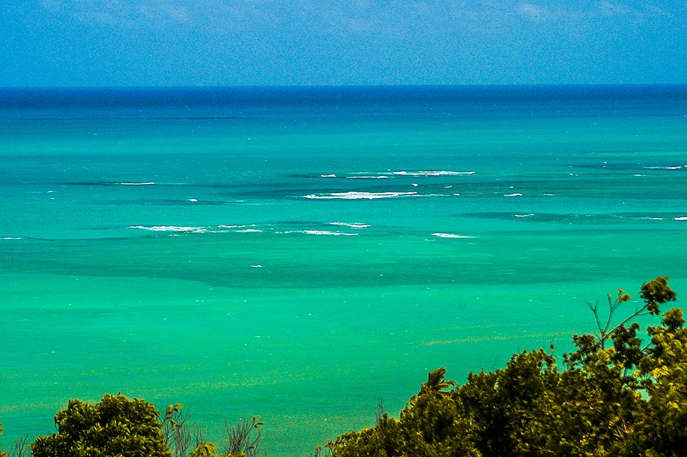 Oceanos: dez fatos para pensar, imagem do mar de alagoas, brasil
